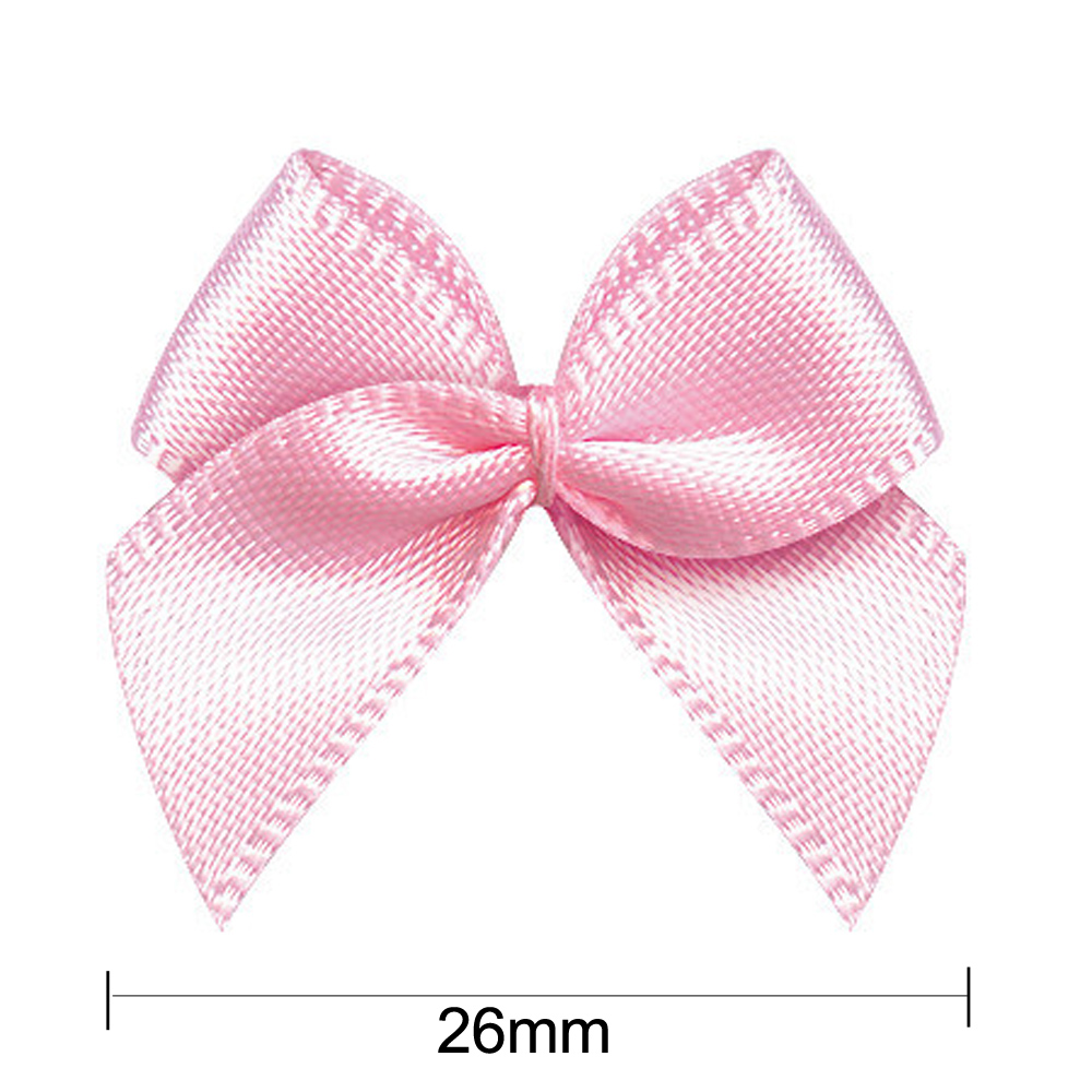 Garment ribbon bow