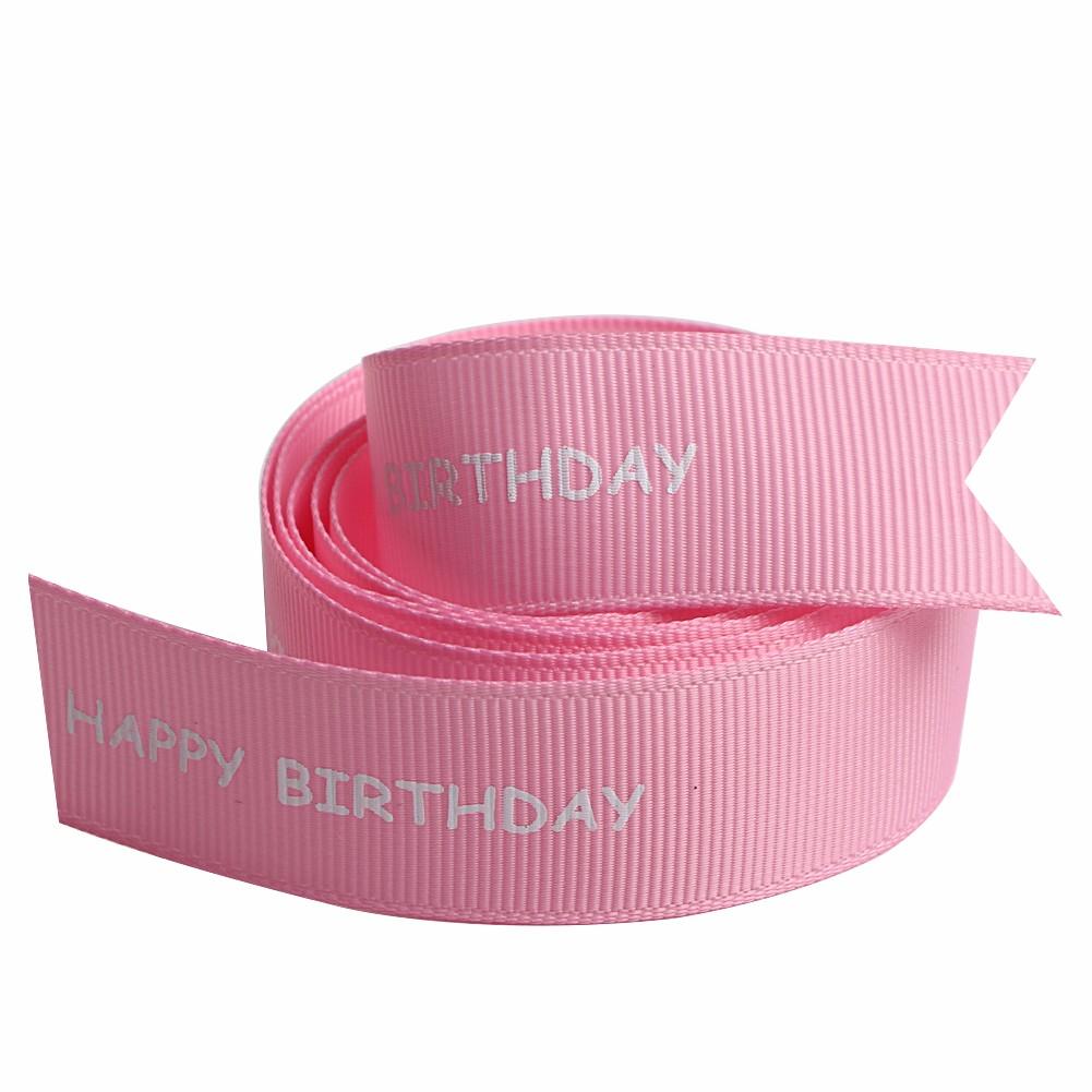 Single face print grosgrain ribbon for birthday wishes Manufacturers, Single face print grosgrain ribbon for birthday wishes Factory, Supply Single face print grosgrain ribbon for birthday wishes
