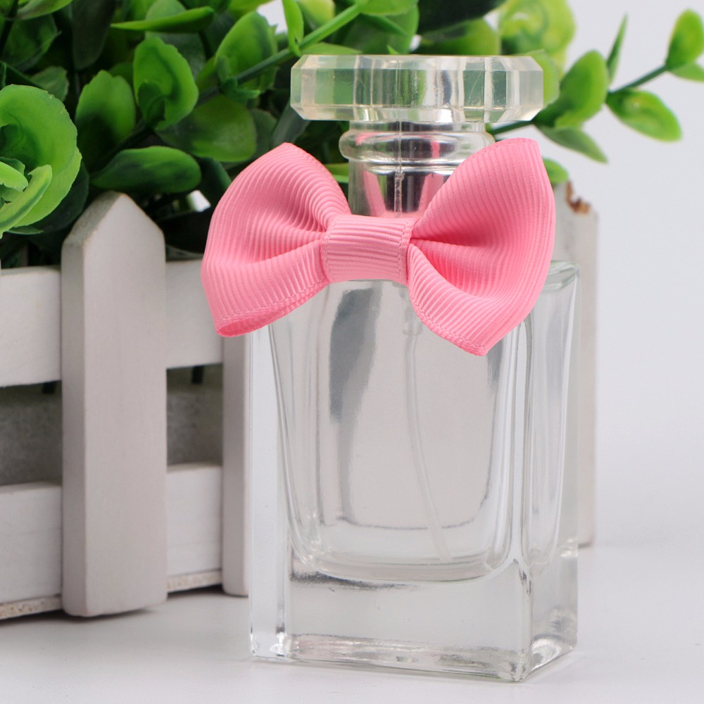 Pink satin ribbon for bows perfume ribbon bow