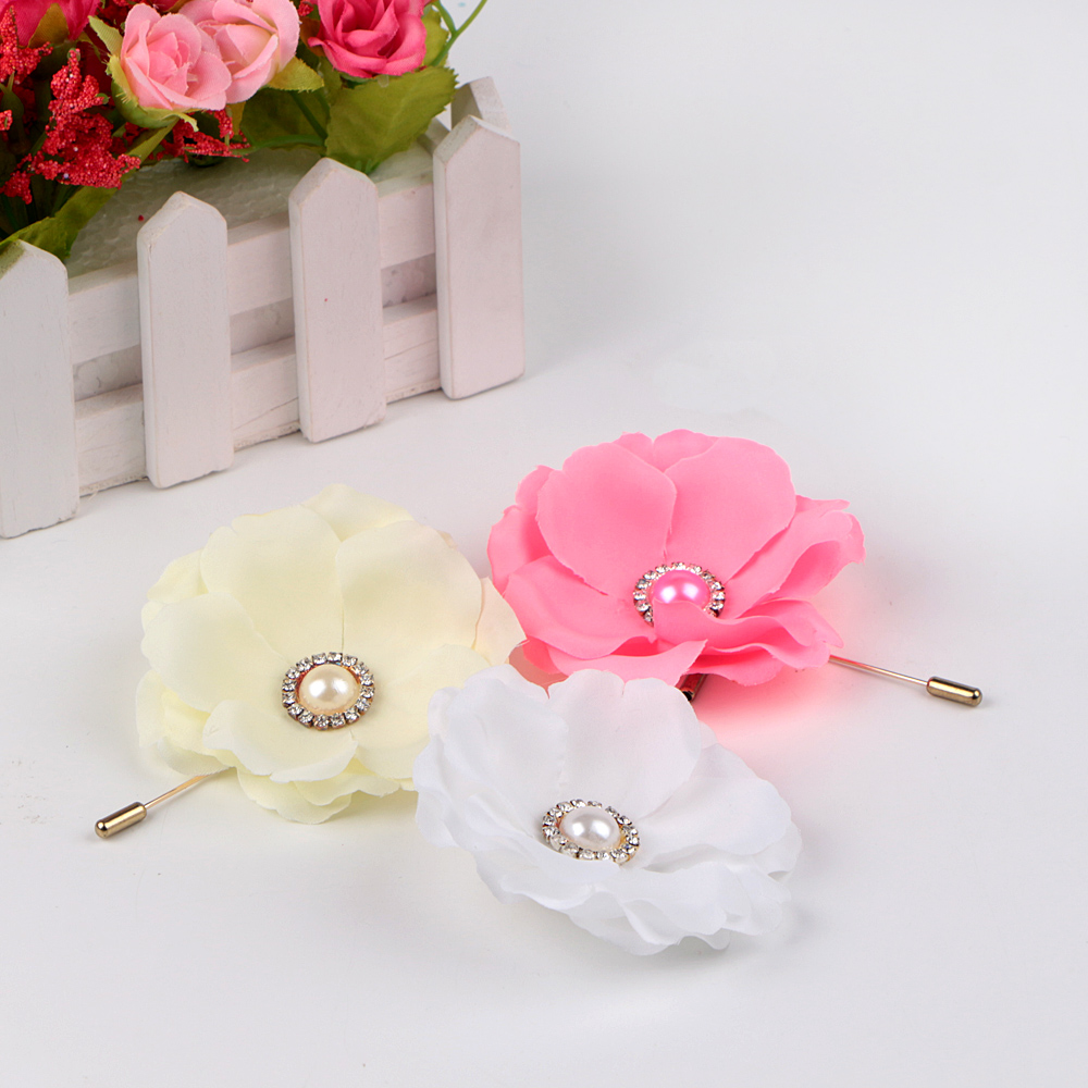 garment decorative ribbon brooch