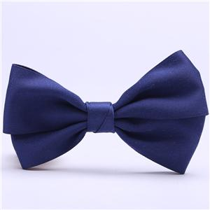Satin ribbon bow tie garment ribbon bow with clip
