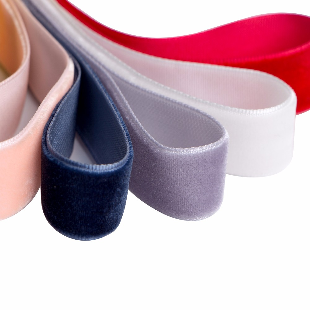 Wholesale single face custom velvet ribbon Manufacturers, Wholesale single face custom velvet ribbon Factory, Supply Wholesale single face custom velvet ribbon