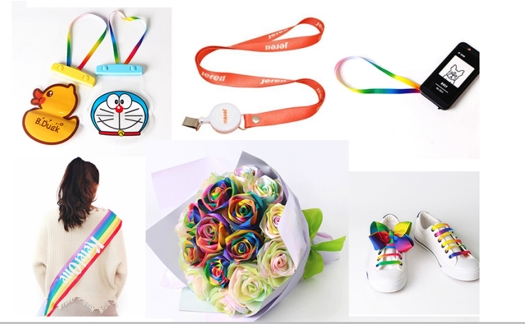 Wholesale custom printed grosgrain ribbon
