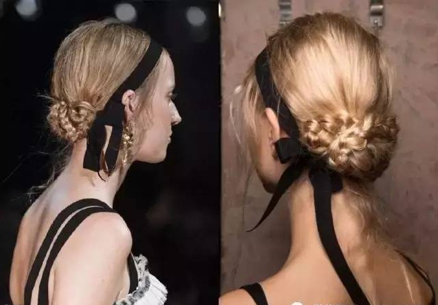 Popular ribbon hair accessories