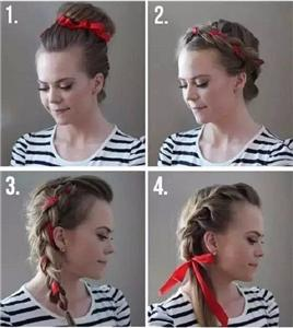The most popular ribbon hair accessories