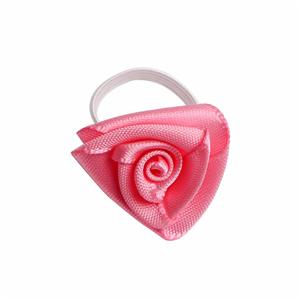 Satin ribbon bow for perfume bottle decorative neck ribbon bow