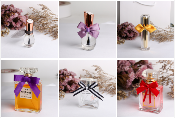 perfume ribbon bows