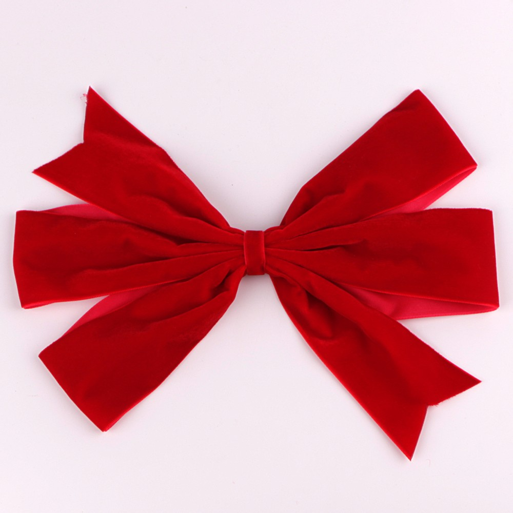 Christmas bows custom velvet ribbon bow for festival celebration Manufacturers, Christmas bows custom velvet ribbon bow for festival celebration Factory, Supply Christmas bows custom velvet ribbon bow for festival celebration