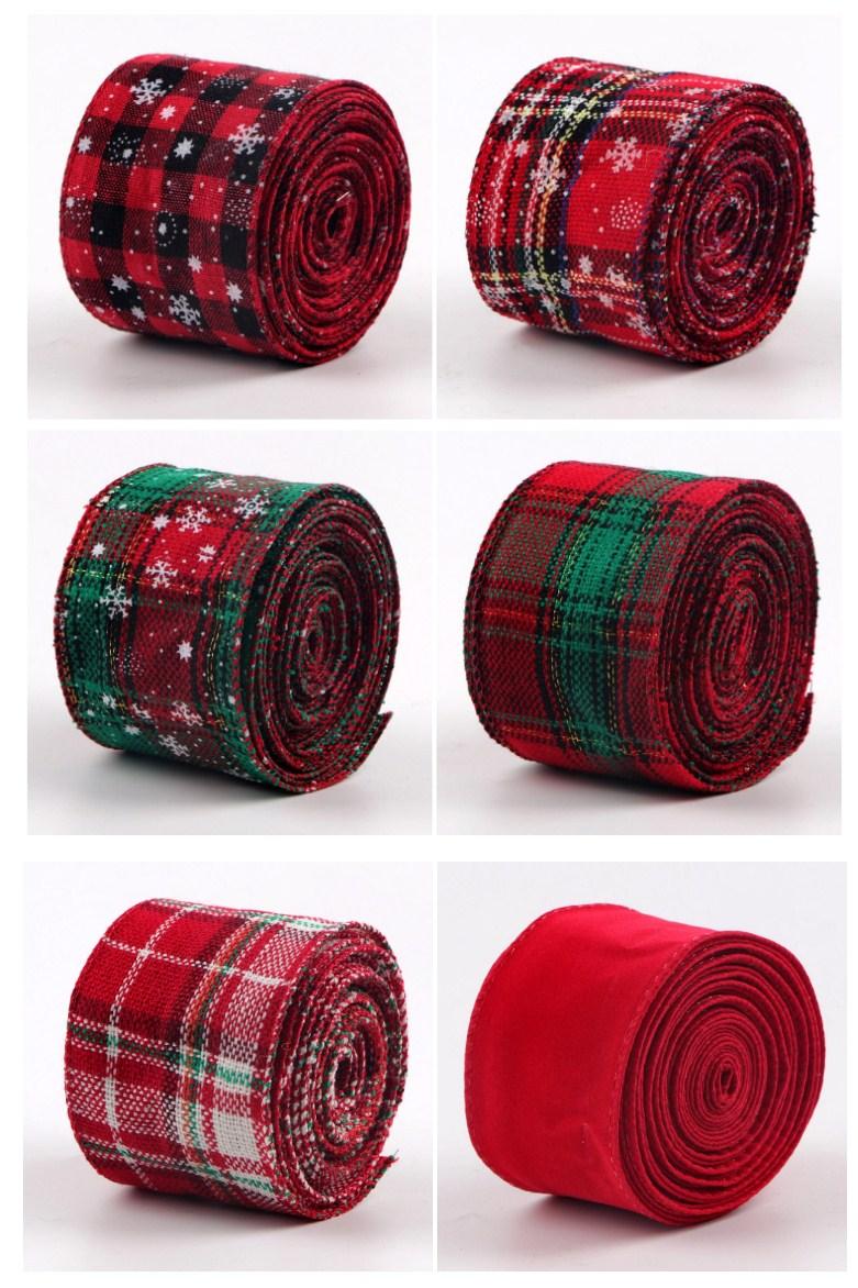 Print burlap ribbon