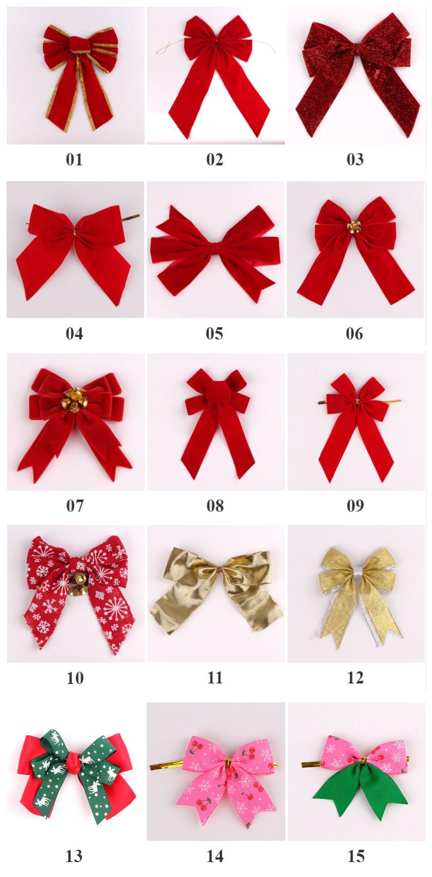 Christmas ribbon custom