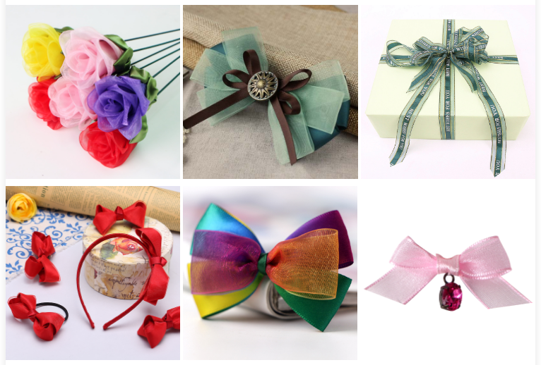 organza ribbon manufacturer