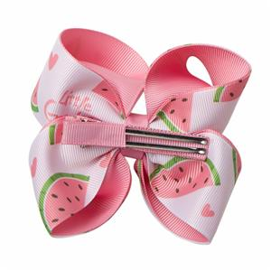 Headband hair bow jojo bows made by custom grosgrain ribbon