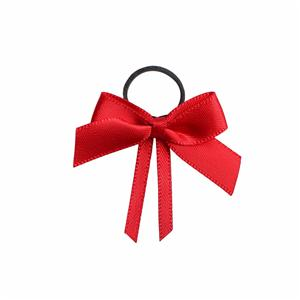 Red satin ribbon and velvet ribbon handmade ribbon bow perfume bottle bows