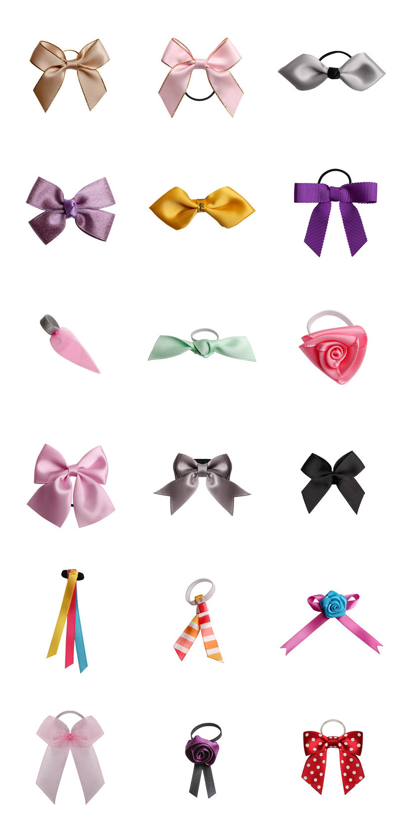 perfume bottle bows