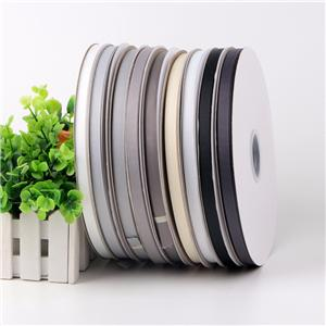 Off white, black, grey grosgrain ribbon wholesale