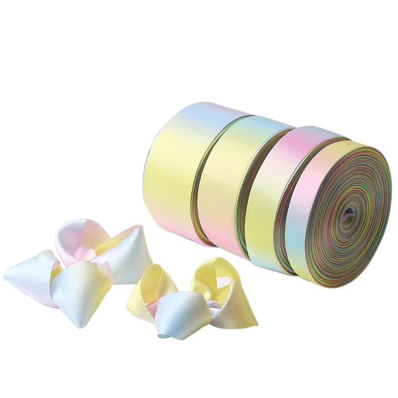 Beautiful rainbow ribbon