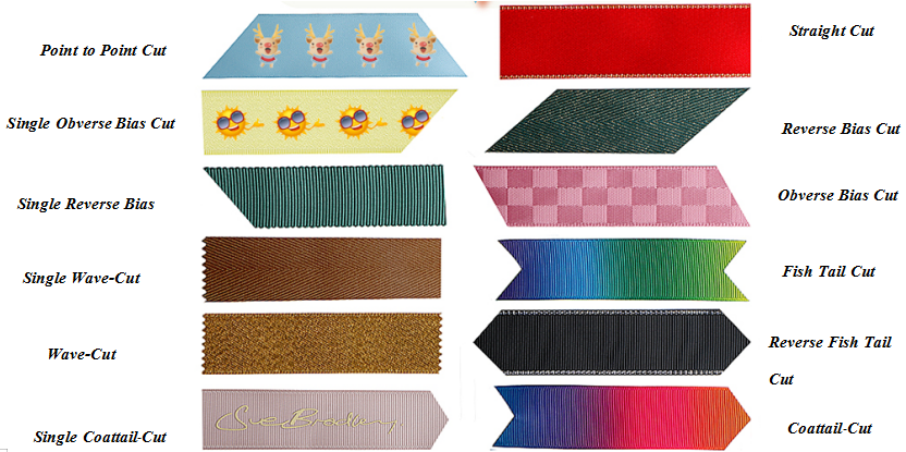 pre-cut ribbon