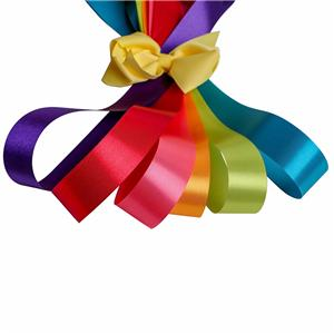 Double sided satin ribbon decorative ribbon wholesale