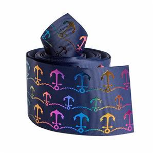 Cinta de transferencia de calor cinta grosgrain personalizada cinta decorativa de estampado en caliente