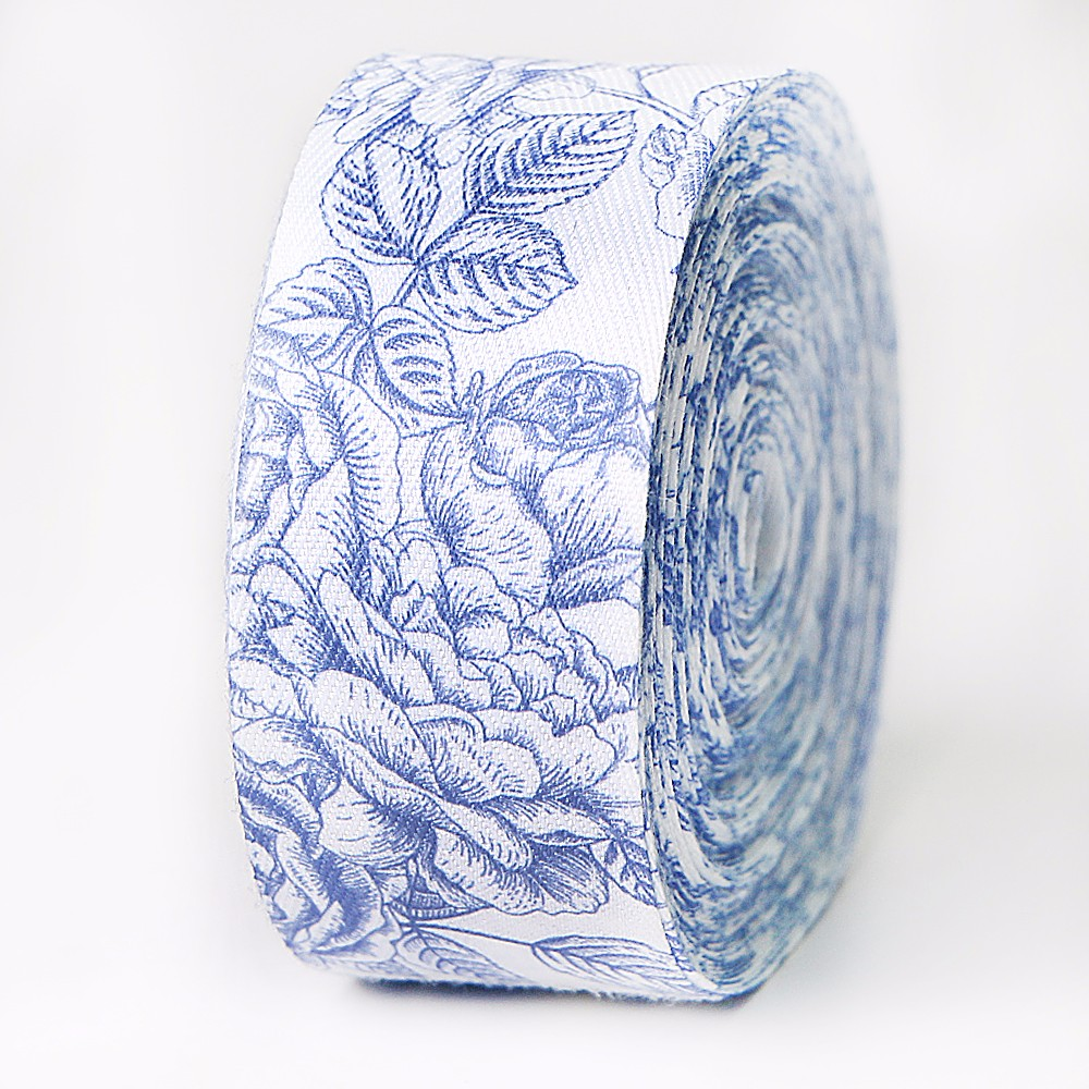 Custom cotton ribbon printed floral ribbon roll Manufacturers, Custom cotton ribbon printed floral ribbon roll Factory, Supply Custom cotton ribbon printed floral ribbon roll