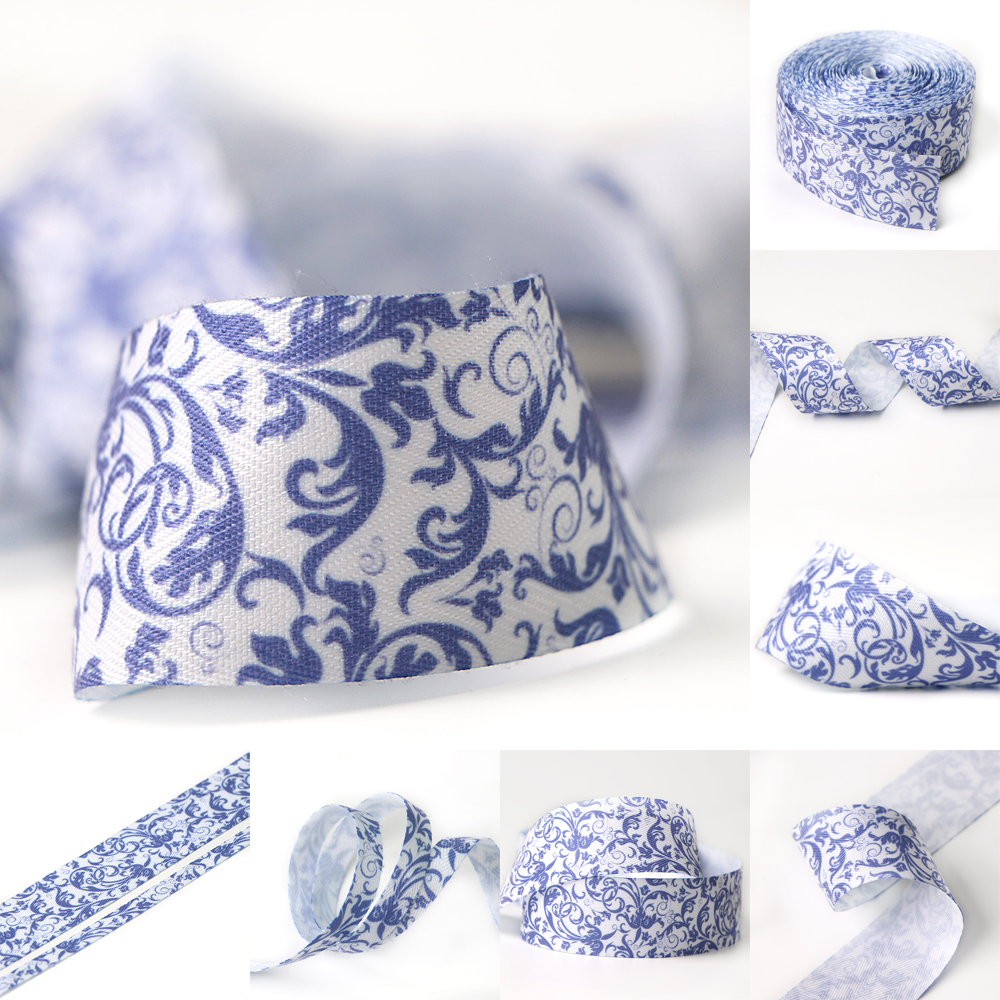 floral ribbon roll