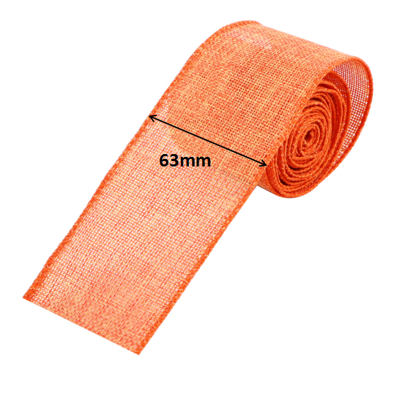 63mm custom wire edged burlap ribbon Christmas ribbon Manufacturers, 63mm custom wire edged burlap ribbon Christmas ribbon Factory, Supply 63mm custom wire edged burlap ribbon Christmas ribbon