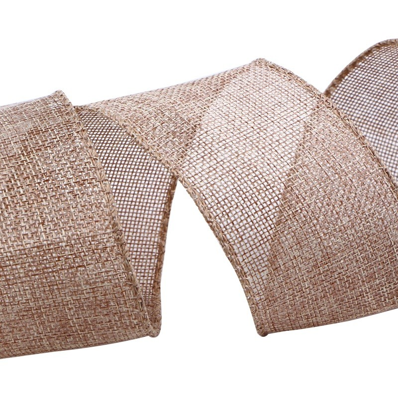 Custom burlap ribbon by the roll jute burlap ribbon Manufacturers, Custom burlap ribbon by the roll jute burlap ribbon Factory, Supply Custom burlap ribbon by the roll jute burlap ribbon
