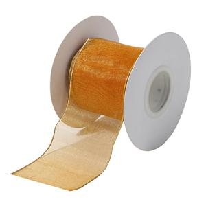 Custom factory wholesale wire edged organza ribbon for Christmas,pacty and wedding