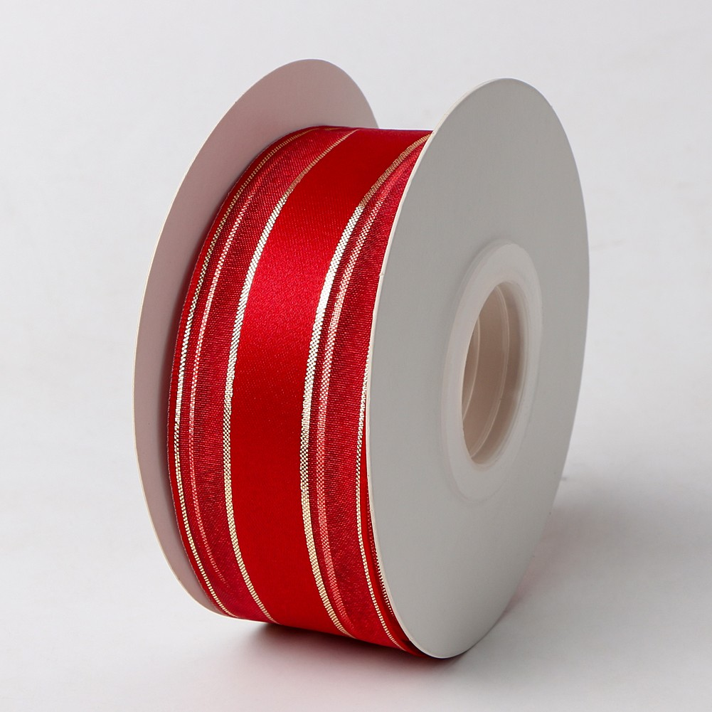 Red organza ribbon with wire packing ribbon decorative ribbon Manufacturers, Red organza ribbon with wire packing ribbon decorative ribbon Factory, Supply Red organza ribbon with wire packing ribbon decorative ribbon