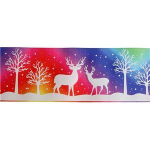 Custom printed ribbon glow in the dark ribbon Xiamen Meisida Decoration Co.,Ltd