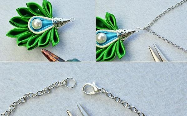 handmade satin ribbon