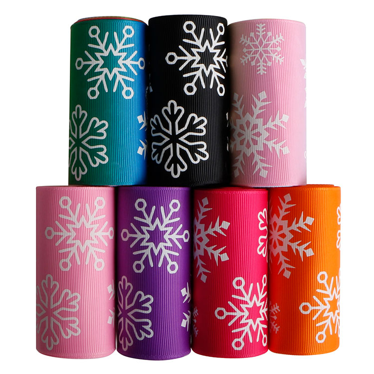 Christmas ribbon glow in dark