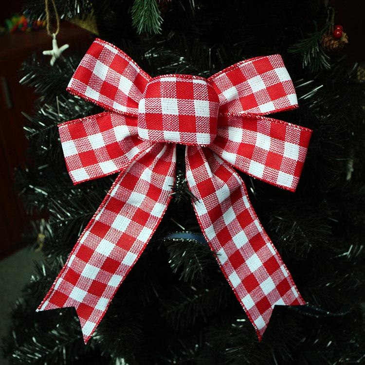 burlap bow rustic decoration