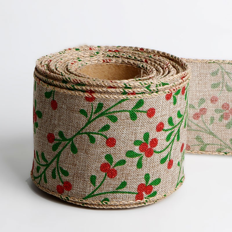 Wired burlap Christmas holiday ribbon gift wrapping Christmas tree ribbon wreath bows Manufacturers, Wired burlap Christmas holiday ribbon gift wrapping Christmas tree ribbon wreath bows Factory, Supply Wired burlap Christmas holiday ribbon gift wrapping Christmas tree ribbon wreath bows