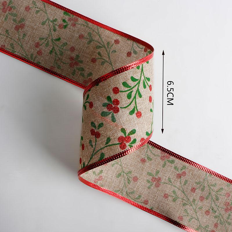 선물 포장 크리스마스 트리 리본