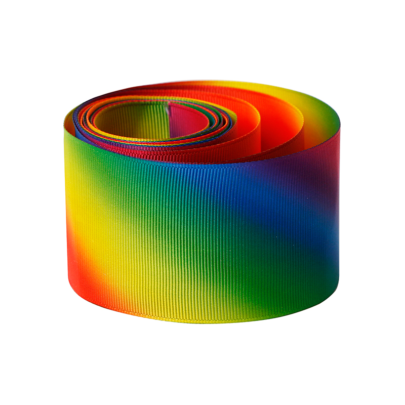 custom rainbow ribbon