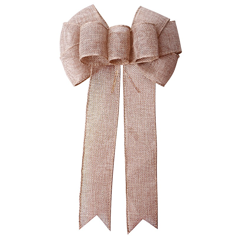 pre-made ribbon bow,Christmas decorative ribbon bow