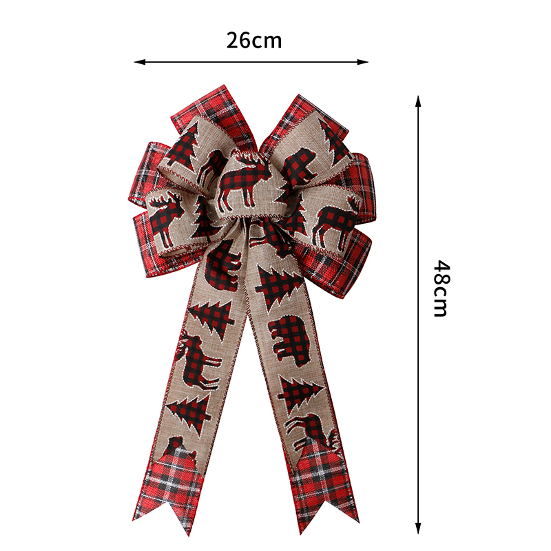 pre-made ribbon bow