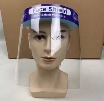 얼굴 방패, 플라스틱 얼굴 방패, 투명한 얼굴 방패