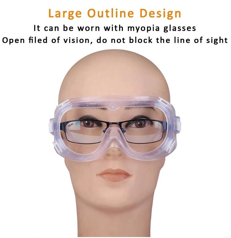 Óculos de proteção de segurança