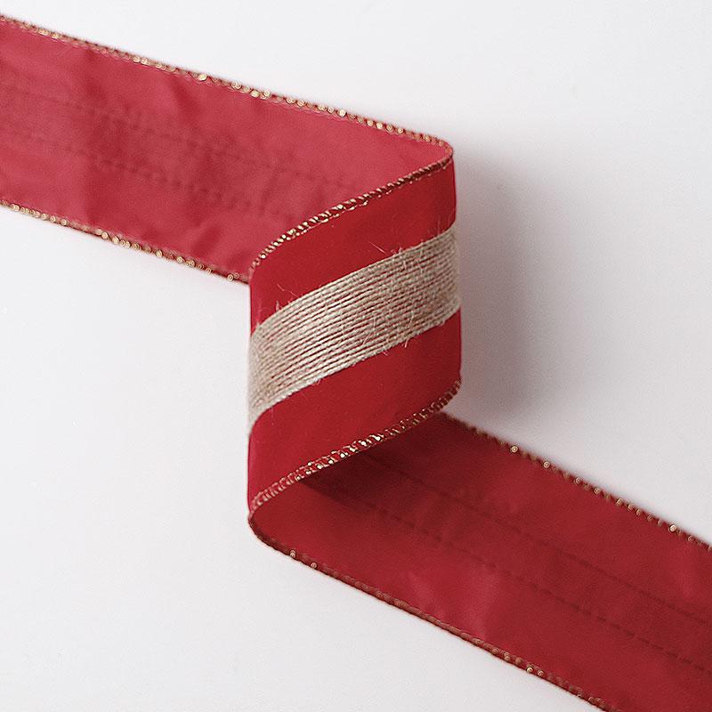 ruban de velours pour la décoration de Noël