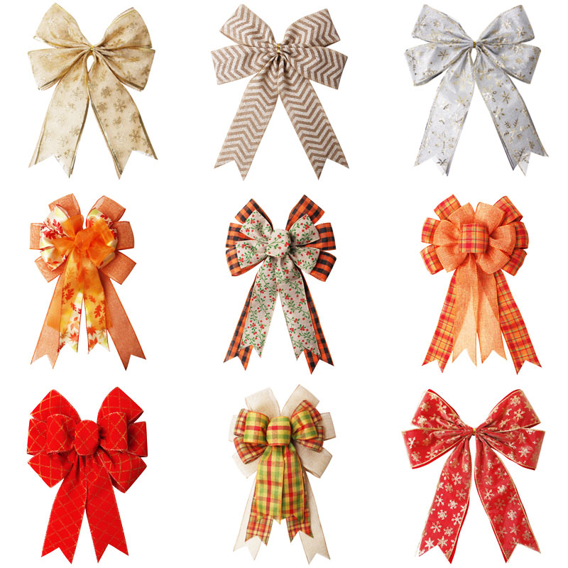 Christmas decorative bow