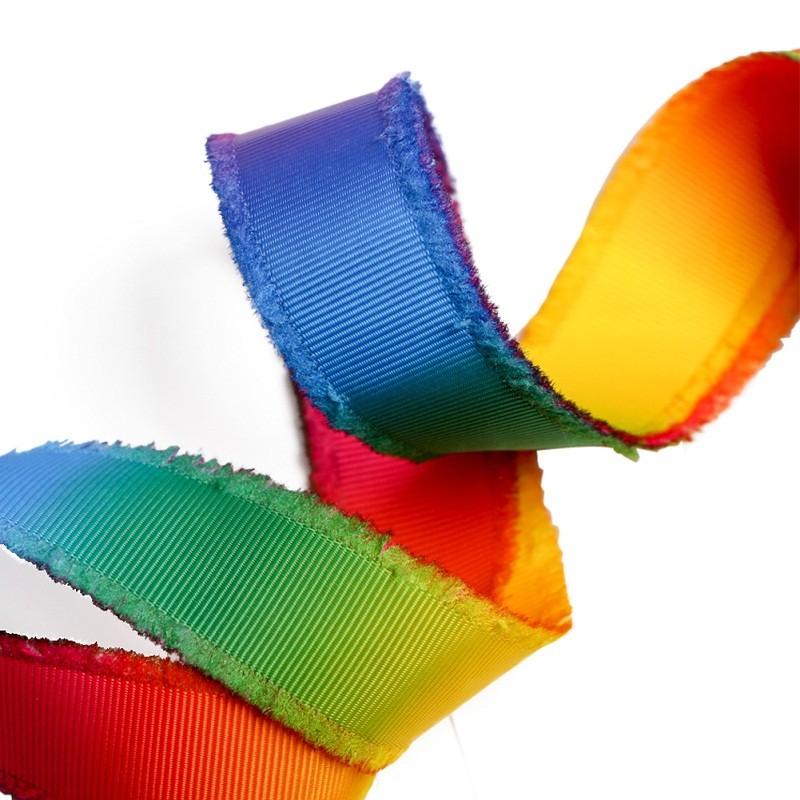 도매 리본 방아 끈, 방아 끈 방수, 무지개 방아 끈, 편평한 방아 끈