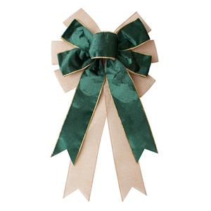 Custom velvet ribbon burlap ribbon for bows