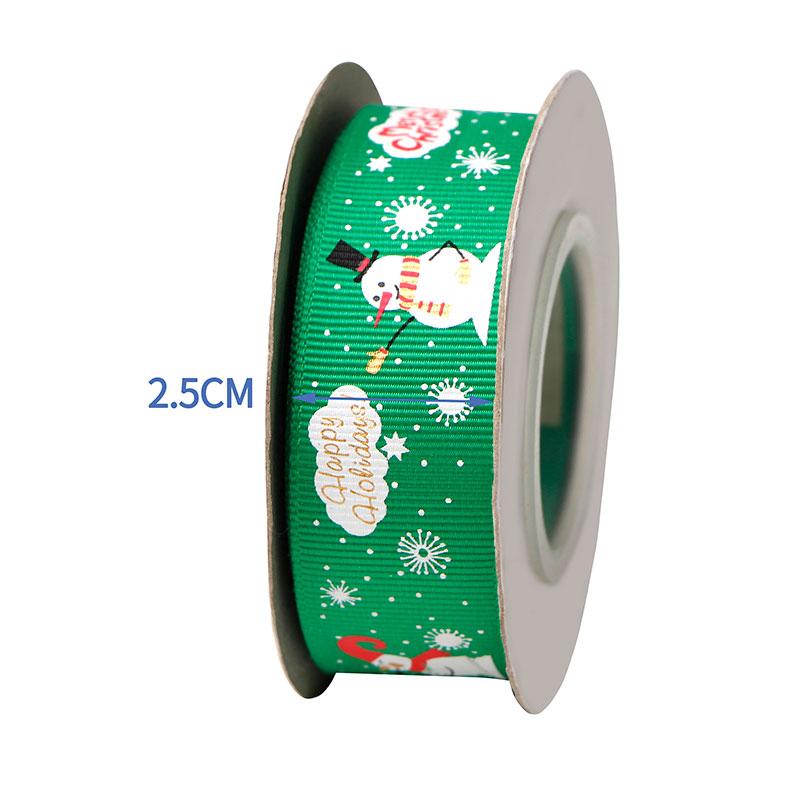 Rubans polyester de Noël