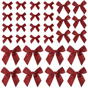 Mini Gingham Ribbon Strikken Gingham Craft Ribbon Strikken Mini Geruit Lint Bloemen