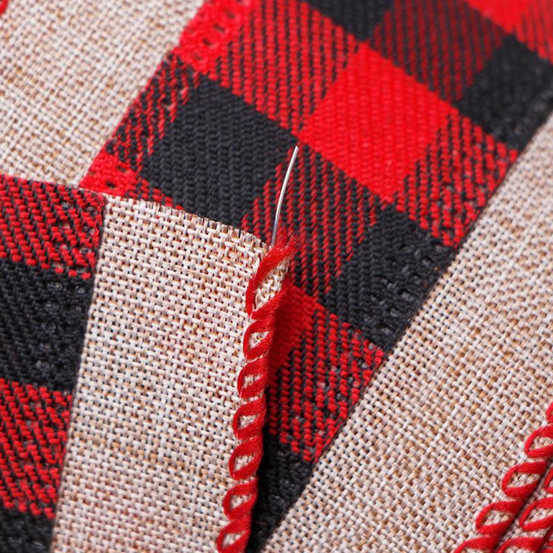 2.5 inch buffalo plaid ribbons