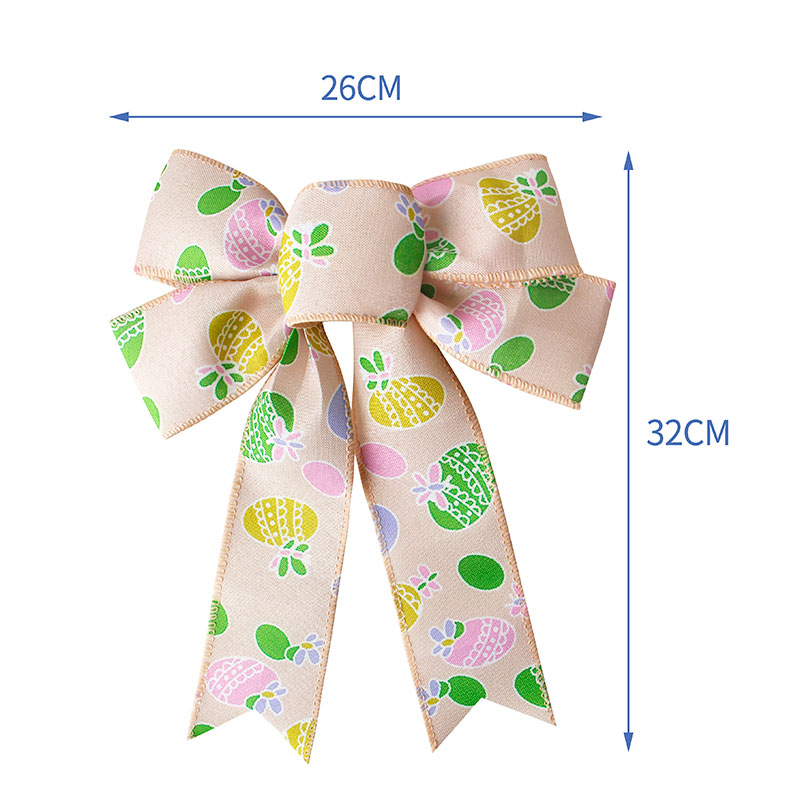 Spring ribbon bow