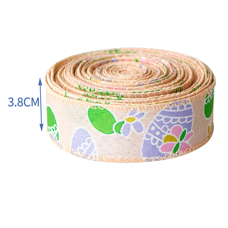 cinta de arpillera con cable