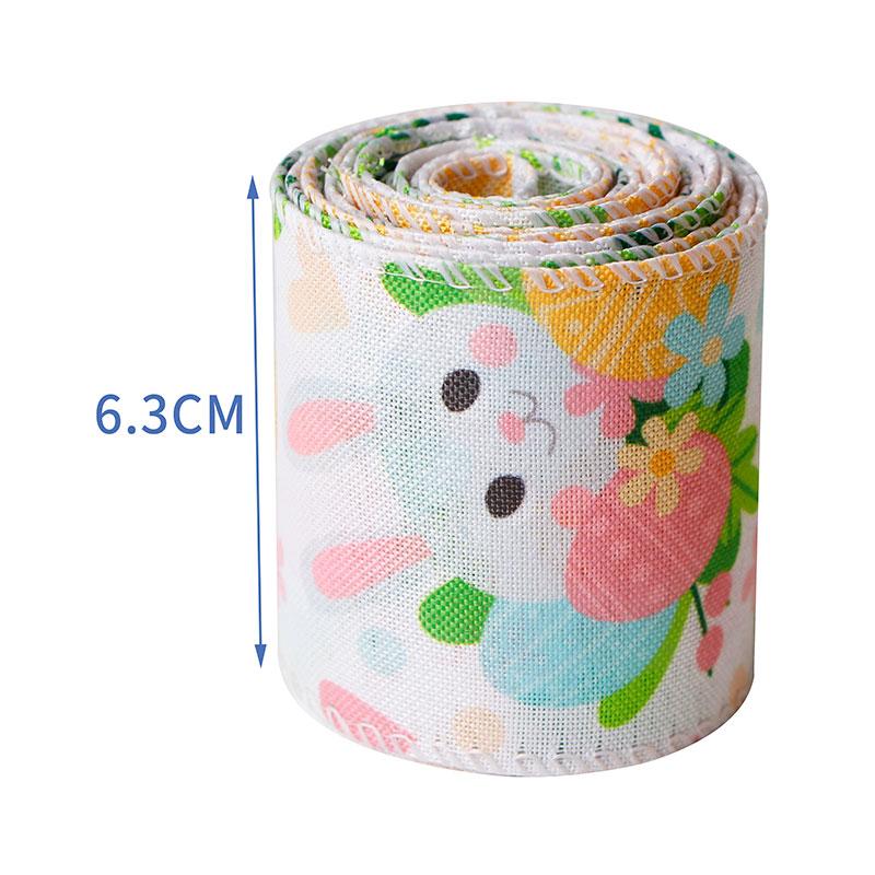 burlap ribbon roll